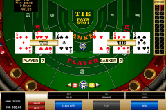 high limit baccarat microgaming online